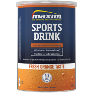 Sports drink orange 480 mg